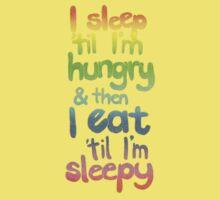 Sleepy / Hungry Kids Clothes