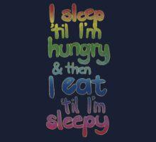 Sleepy / Hungry One Piece - Short Sleeve