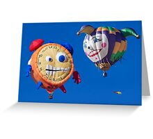 2011 Special Shapes - Tic Toc and Lady Jester Greeting Card