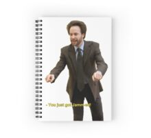 """You Just Got Jamm-ed!"" Spiral Notebook"