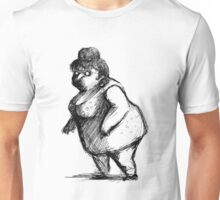 Woman sketch Unisex T-Shirt