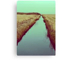 FOLLOW RIVERS Canvas Print