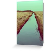 FOLLOW RIVERS Greeting Card