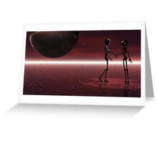 Last Dance....with Mary Jane. Greeting Card