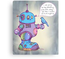 I was going to say something cute and witty...  Metal Print