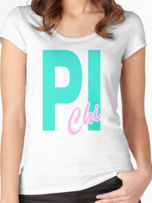 Pi Chi Women's Fitted Scoop T-Shirt