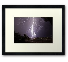 Huff and Puff (480 views + 6 times featured) Framed Print