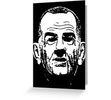 LBJ Greeting Card