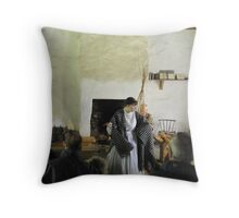 story telling Throw Pillow