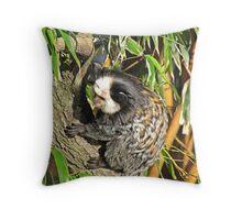 """""""Pygmy Marmoset"""" ( Endangered ) Throw Pillow"""