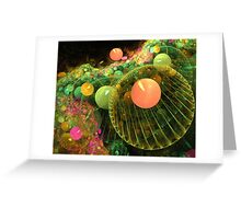 Gathering of the planets Greeting Card