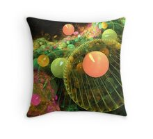 Gathering of the planets Throw Pillow