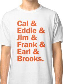 Baltimore Oriole HOFers - orange Classic T-Shirt