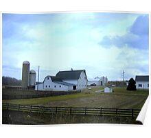 Clinton County Farm Poster