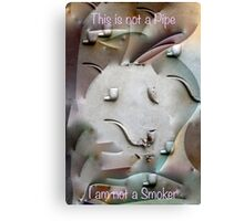 This is not a Pipe 1 Canvas Print