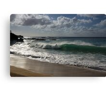 Big Wave at Waimea Bay, North Shore, Oahu, Hawaii Canvas Print