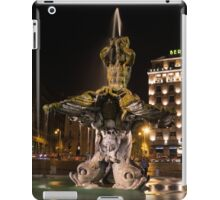 Rome's Fabulous Fountains - Bernini's Fontana del Tritone iPad Case/Skin
