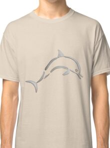 Playful Dolphin Classic T-Shirt