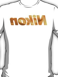 Nokin/Nikon Gold Mirror T-Shirt