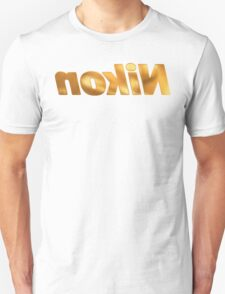 Nokin/Nikon Gold Mirror T-Shirt