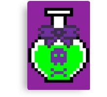 PIXEL - Poison potion Canvas Print