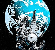 The Lost Astronaut by carbine