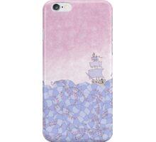 Crossing the Wiggling Sea iPhone Case/Skin