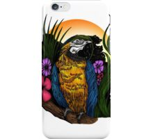 Tropical Parrot iPhone Case/Skin