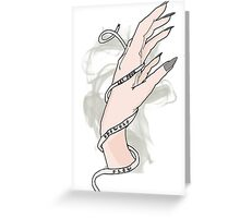 Let Your Shewolf Flow #3 Greeting Card