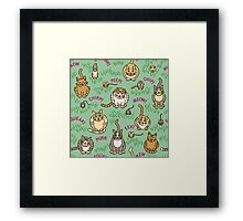 Cats and Critters Framed Print