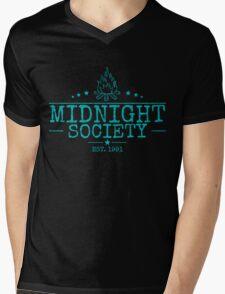 Midnight Society Crew Mens V-Neck T-Shirt