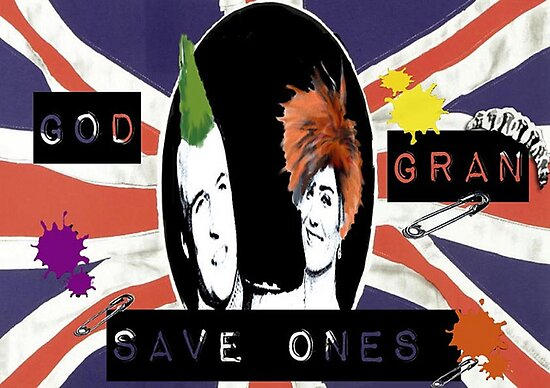 God Save One's Grandma by Phil Potter