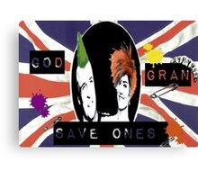 God Save One's Grandma Canvas Print