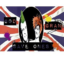God Save One's Grandma Photographic Print