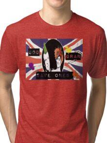 God Save One's Grandma Tri-blend T-Shirt
