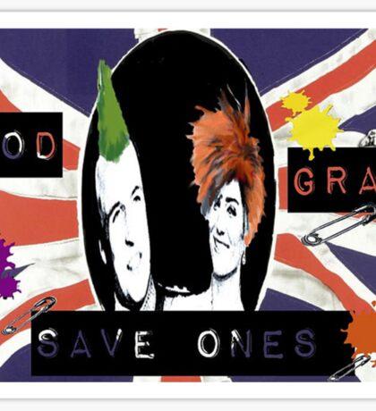 God Save One's Grandma Sticker