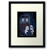 Bad wolf in Gravity falls Framed Print
