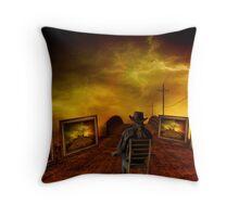 Thunderous  Exhibition Throw Pillow