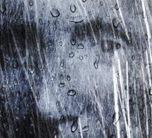 A hard rain is falling  Sticker