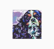 cavalier king charles spaniel Dog Bright colorful pop dog art T-Shirt