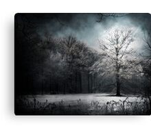 White Tree Canvas Print