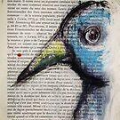 Blue bird by ArtLacoque