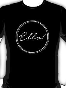 'Ello- Black T-Shirt