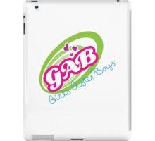 GAB - Girls After Boys iPad Case/Skin