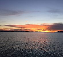 SF sunset by omhafez