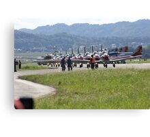 pilatus pc 7 Canvas Print