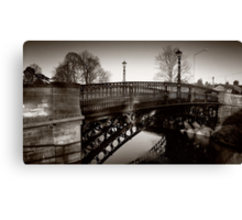 1810 Tickford Bridge - Newport Pagnell Canvas Print