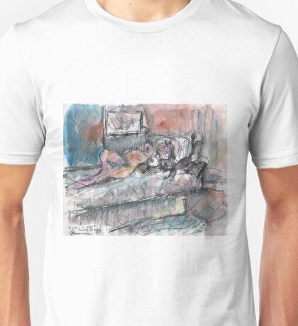 SHUU CAT(CJUNE 15 2012)(V1) Unisex T-Shirt