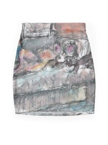 SHUU CAT(CJUNE 15 2012)(V1) Mini Skirt