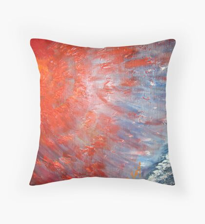contrast perceptions Throw Pillow